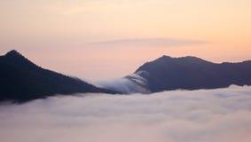 Miękka mgła Fotografia Stock