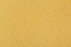 Miękka pomarańcze textured papier Zdjęcia Stock