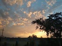 Miękka słońce scena obraz royalty free