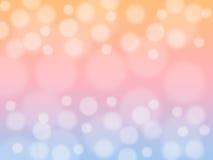 Miękki cukierki zamazywał pastelowego koloru tło z bokeh Abstrakcjonistyczna gradientowa desktop tapeta ilustracja wektor