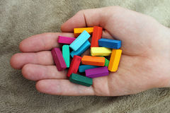 Miękki pastel dla artystów Fotografia Stock