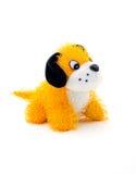 Miękki pluszowy zabawkarskiego psa strzał Obrazy Royalty Free