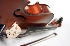 miękki skupić na skrzypcach Zdjęcie Stock