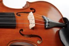 miękki skupić na skrzypcach Obrazy Royalty Free