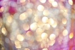 Miękkich świateł abstrakcjonistyczny tło - miękka część kolory fotografia stock