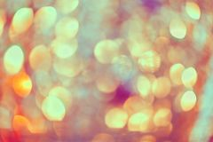 Miękkich świateł abstrakcjonistyczny tło - miękka część kolory obrazy stock