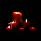 miękkie świece. Obraz Royalty Free