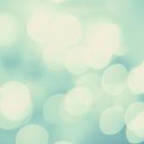 Miękkiego światła abstrakta tło Defocused Bokeh okamgnienia światła Obraz Stock