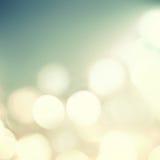 Miękkiego światła abstrakta tło Defocused Bokeh okamgnienia światła Fotografia Royalty Free