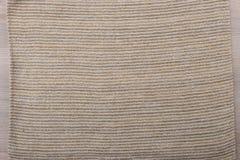 Miękkiego brown tkaniny tła odgórny widok zdjęcie royalty free