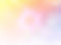 Miękkiego cukierki pastelowego koloru zamazany tło Abstrakcjonistyczna gradientowa desktop tapeta Fotografia Stock