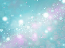 Miękkiej części barwiony abstrakcjonistyczny błękitny tło Zdjęcie Royalty Free