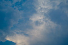 Miękkiej części niebo i chmura Fotografia Stock