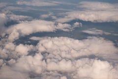 Miękkiej części niebo i chmura Obrazy Stock