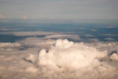 Miękkiej części niebo i chmura Zdjęcia Stock