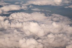 Miękkiej części niebo i chmura Zdjęcia Royalty Free