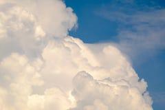 Miękkiej części niebo i chmura Fotografia Royalty Free