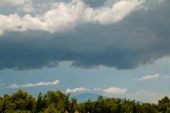 Miękkiej części niebo i chmura Zdjęcie Stock