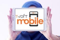 miękkiej części oprogramowania Mobilny logo Obraz Royalty Free