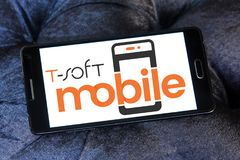 miękkiej części oprogramowania Mobilny logo Fotografia Stock