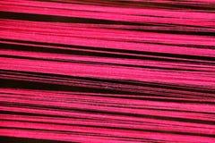 Miękkiej części różowa bawełniana nić Zdjęcie Stock