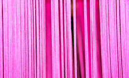 Miękkiej części różowa bawełniana nić dla abstrakcjonistycznego tła Obraz Royalty Free