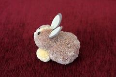 Miękkiej części zabawkarski «królik « Zabawka fotografia stock