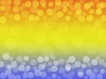 Miękkiej części zamazany kolorowy tło z bokeh Abstrakcjonistyczna gradientowa desktop tapeta zdjęcie royalty free