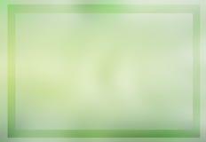 Miękkiej części zieleni barwiony abstrakcjonistyczny tło Zdjęcia Royalty Free