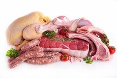 mięsa surowi obraz stock