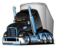 Mięsień kreskówki Samochodowa ilustracja ilustracja wektor