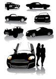 mięsień samochodowy royalty ilustracja