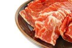 mięsna wołowiny premia obdziera wagyu Zdjęcie Royalty Free