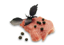 mięsne surowe pikantność Zdjęcie Stock