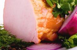 mięsnego setu uwędzony smakowity Obrazy Royalty Free