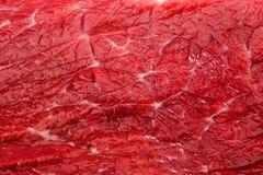Mięsnej wołowiny zbliżenia dobra tekstura Obrazy Royalty Free