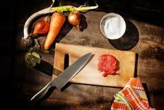 mięsny kawałek surowy Obraz Stock