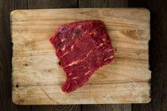 mięsny kawałek surowy Fotografia Royalty Free