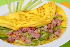 mięsny naleśnikowy warzywo Zdjęcia Royalty Free