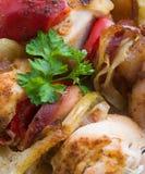 mięsny skewer zdjęcie royalty free