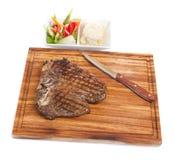 mięsny stek Fotografia Royalty Free