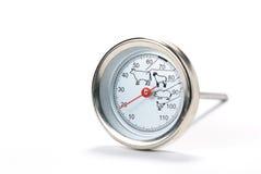 mięsny termometr fotografia royalty free