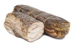 mięso dymiący Zdjęcie Stock