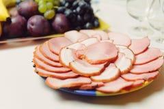 Mięso plasterki Zdjęcie Royalty Free