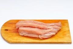 Mięso, przygotowywa posiłki Fotografia Royalty Free