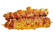 Mięso smażący jest świeży soczysty. Obrazy Stock