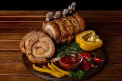 mięso upiec mięczaka fotografia stock