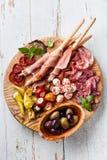 Mięso zimny talerz obrazy stock