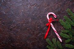 Miętowego cukierku trzcina abstrakcjonistyczny tła bożych narodzeń target1483_1_ świąteczny Obrazy Stock