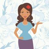 miła kobieta łacińskiej Zdjęcia Royalty Free